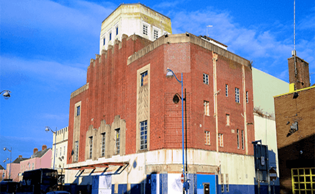Former Gaumont Theatre, Plymouth near Newton Ferrers